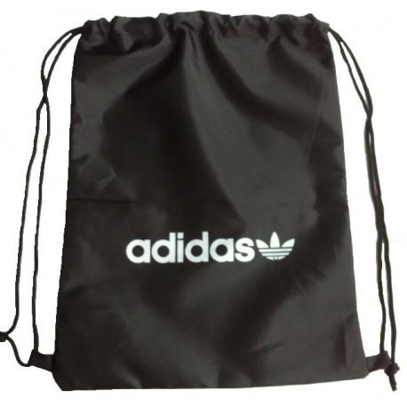 Рюкзак-мешок Adidas на затяжках черный