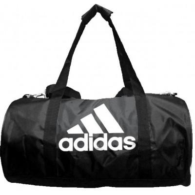 Сумка спортивная Adidas круглая малая черная 45 см