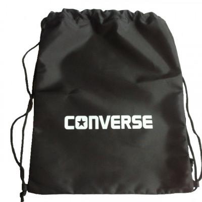 Рюкзак-мешок Converse на затяжках черный
