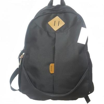 Рюкзак спортивный c ромбом на 2 отдела серый 42х30 см.