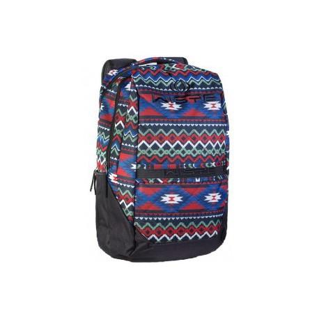 Рюкзак спортивный Wispe 45х30 черный с вышиванкой