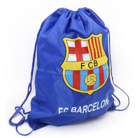 Рюкзак-мешок для обуви на затяжках BARCELONA 40х50 синий