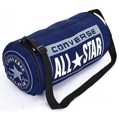 Сумка спортивная Converse бочонок с отделом для обуви темно-синяя 45 см