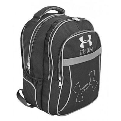 Рюкзак спортивный RUN 43x28x23 черно-серый