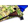 Спальный мешок одеяло с капюшоном камуфляж 300г/м2, 185+35х72см, t от0 до +15