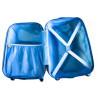 Чемодан детский пластиковый Тачка Маквин 45 см 4 колеса