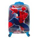 Чемодан детский пластиковый Человек паук 42 см 4 колеса