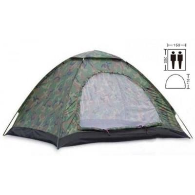 Палатка двухместная 2.00 х 1,50 м камуфляж T1SY002