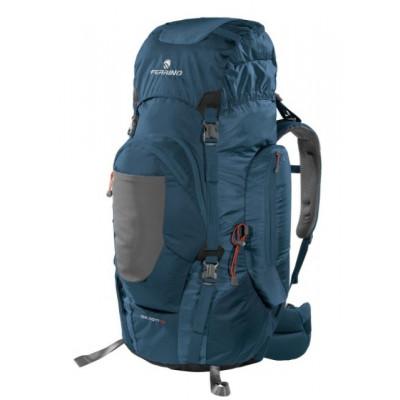 Рюкзак туристический Ferrino Chilkoot 75 фронтальный вход темно-синий