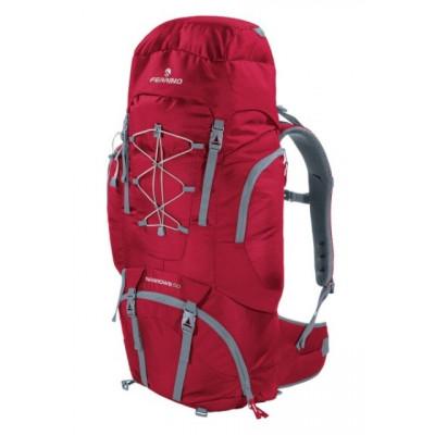 Рюкзак туристический Ferrino Narrows 50 нижний вход бордовый