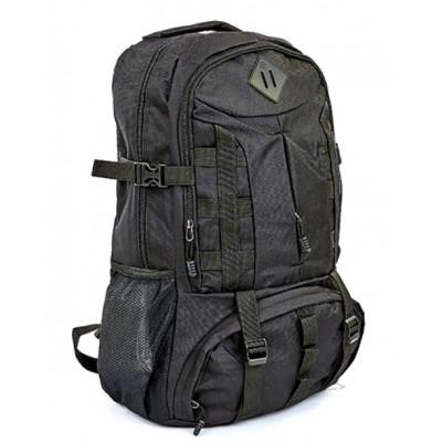 Рюкзак туристический 45л 55х35х19 черный