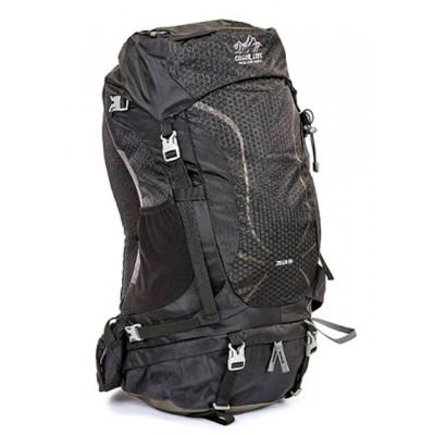 Рюкзак туристический каркасный COLOR LIFE 5308 50)л нижний вход черный