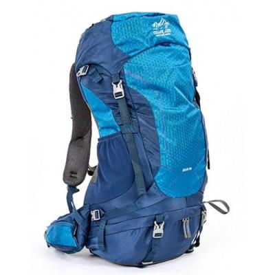 Рюкзак туристический каркасный COLOR LIFE 5308 50)л нижний вход синий
