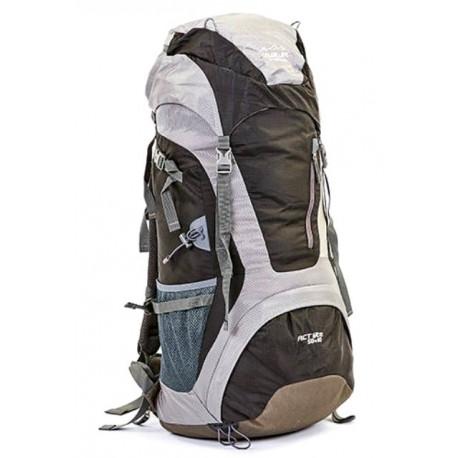 Рюкзак туристический каркасный COLOR LIFE 172 60л нижний вход черный