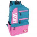 Рюкзак женский Vans тканевый сине-розовый R50511