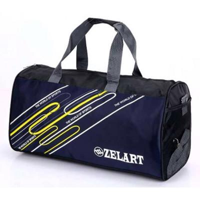 Сумка спортивная ZELART 50*25*25 темно-синяя