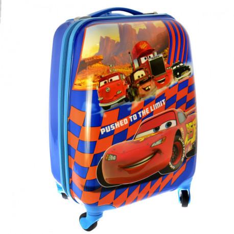 Чемодан детский пластиковый Тачки 42 см 4 колеса Bp048606