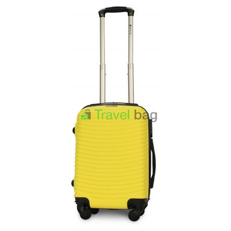 Чемодан пластиковый FLY 1053 мини желтый 51 см