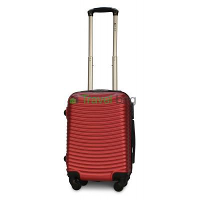 Чемодан пластиковый FLY 1053 мини красный 51 см