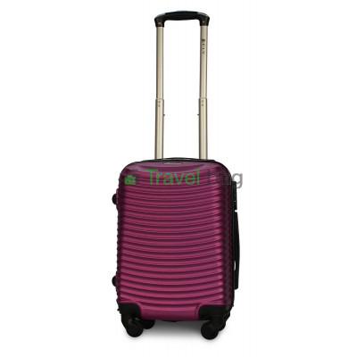 Чемодан пластиковый FLY 1053 мини темно-фиолетовый 51 см