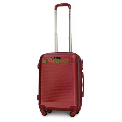 Чемодан пластиковый FLY 1093 маленький бордовый 55 см
