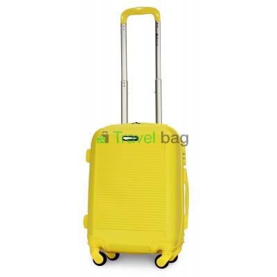 Чемодан пластиковый FLY 1093 мини желтый 51 см
