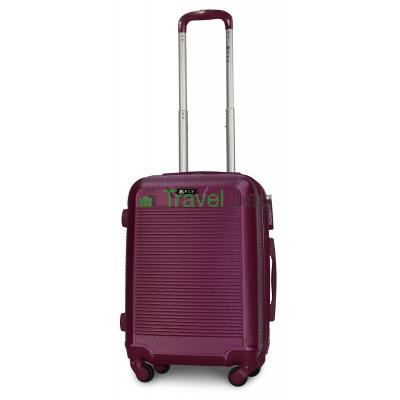 Чемодан пластиковый FLY 1093 маленький темно-фиолетовый 55 см