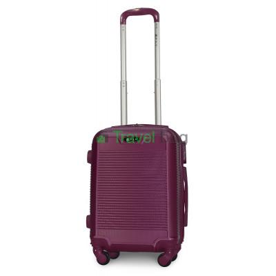 Чемодан пластиковый FLY 1093 мини темно-фиолетовый 51 см