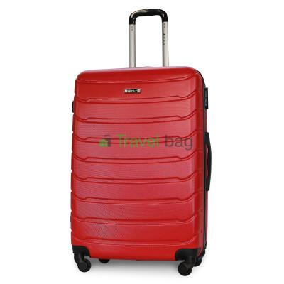 Чемодан пластиковый FLY 1107 большой красный 75 см