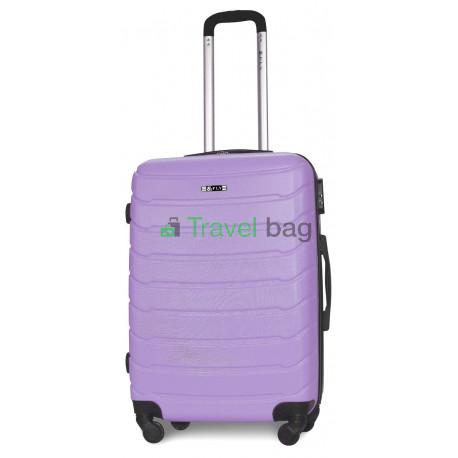 Чемодан пластиковый FLY 1107 средний светло-фиолетовый 65 см
