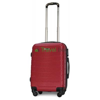 Чемодан пластиковый FLY 1107 маленький бордовый 55 см