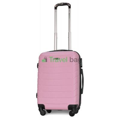 Чемодан пластиковый FLY 1107 маленький розовый 55 см