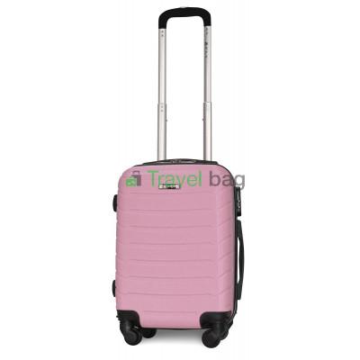 Чемодан пластиковый FLY 1107 мини розовый 51 см