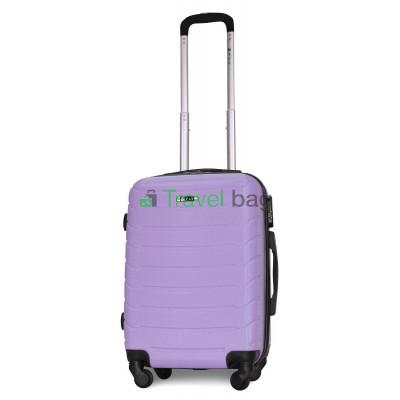 Чемодан пластиковый FLY 1107 маленький светло-фиолетовый 55 см