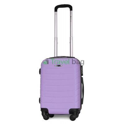 Чемодан пластиковый FLY 1107 мини светло-фиолетовый 51 см