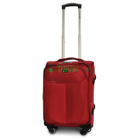 Чемодан тканевый FLY 1807 малый красный 4 колеса 55 см
