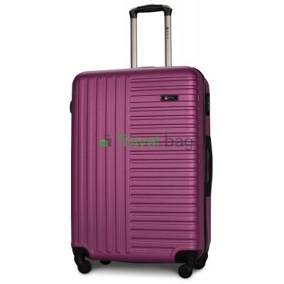 Чемодан пластиковый FLY 1096 большой темно-фиолетовый 75 см