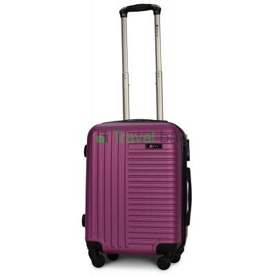 Чемодан пластиковый FLY 1096 маленький темно-фиолетовый 55 см