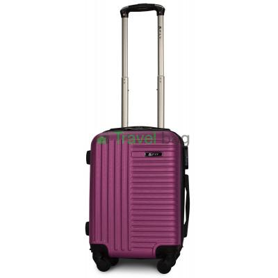 Чемодан пластиковый FLY 1096 мини темно-фиолетовый 51 см