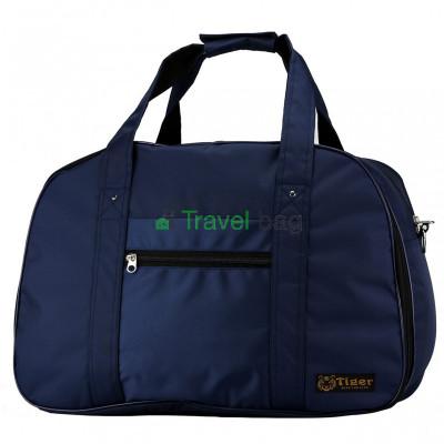 Сумка дорожная Tiger Euro Bag 33х50 темно-синяя S181201