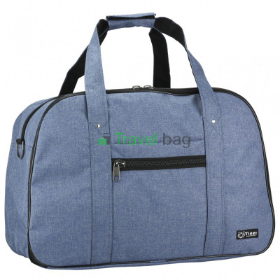 Сумка дорожная Tiger Euro Bag 33х50 синяя S273724