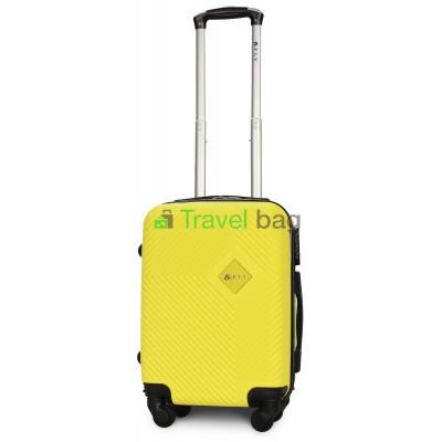 Чемодан пластиковый FLY 2130 мини желтый 51 см