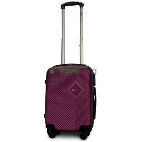 Чемодан пластиковый FLY 2130 мини темно-фиолетовый 51 см