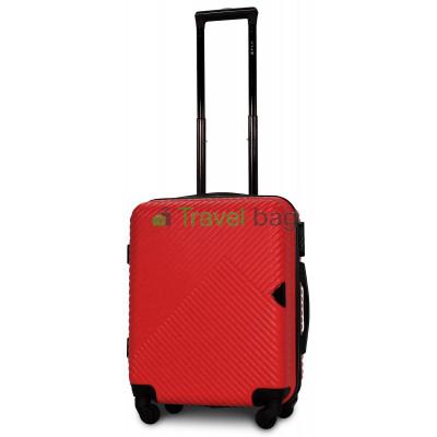 Чемодан пластиковый FLY 2702 малый красный 55 см