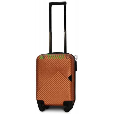 Чемодан пластиковый FLY 2702 мини оранжевый 51 см