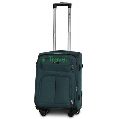 Чемодан тканевый FLY 8279 малый зеленый 4 колеса 55 см