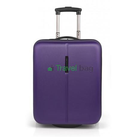 Чемодан пластиковый GABOL Paradise микро фиолетовый