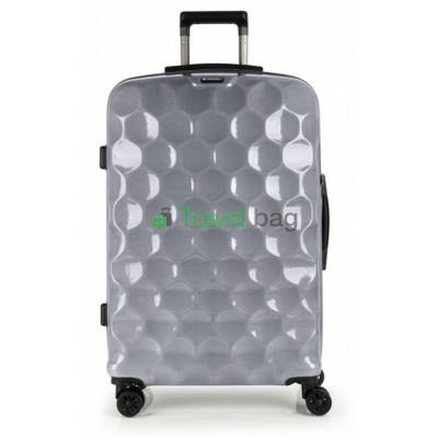 Чемодан пластиковый GABOL Air большой серебристый