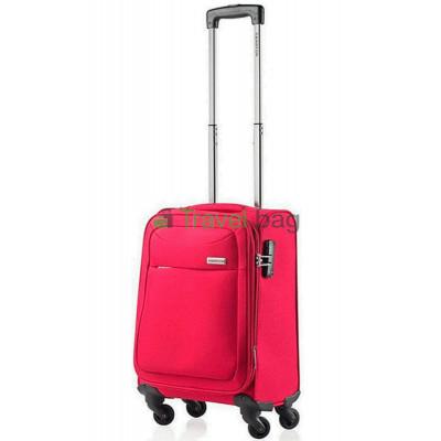 Чемодан тканевый CarryOn AIR малый красный 4 колеса
