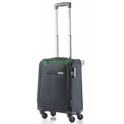 Чемодан тканевый CarryOn AIR малый черный 4 колеса